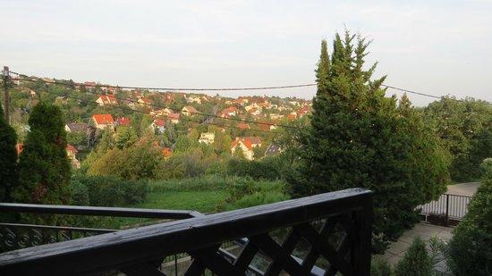 Hotel Pension Helios: вид с балкона