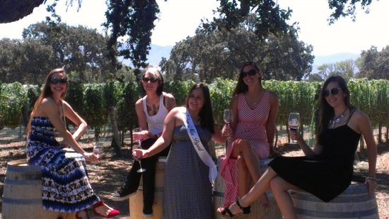 Wine Canyon Tours: Enjoying our tour!
