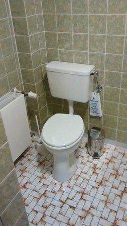 Hotel zum Freigericht: Das Bad ist schon in die Jahre gekommen, aber dafür sauber und gepflegt.