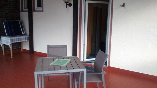 Hotel zum Freigericht: Terrasse