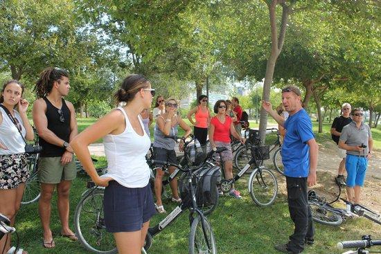 met Eric van Valencia Bikes op tocht