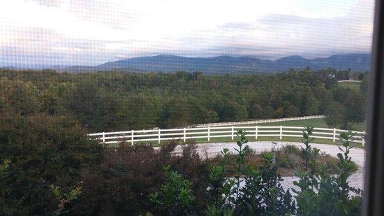 Landrum, SC: View from Manger Room