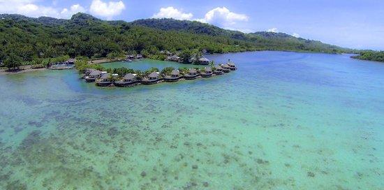 Koro Sun Resort and Rainforest Spa: Edgewater Lagoon