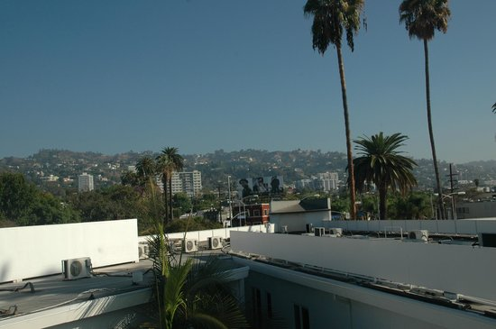 Hotel Beverly Terrace: Rooftop Terrace View
