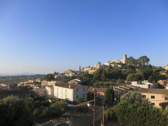 Petit Hotel Son Arnau: Desayunando con buenas vistas