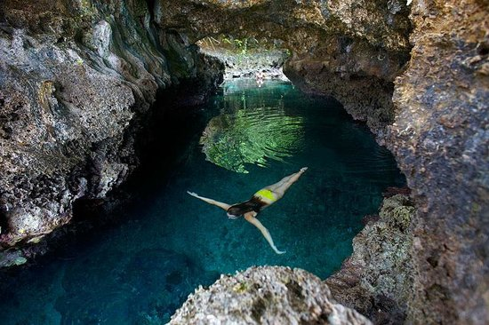 Koro Sun Resort and Rainforest Spa: Bat Island Cave Swim