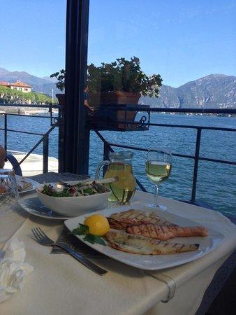 Albergo Ristorante Plinio : Grilled seafood plate
