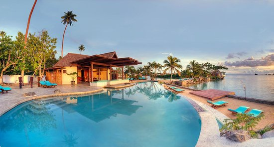 Koro Sun Resort and Rainforest Spa: Adults only pool