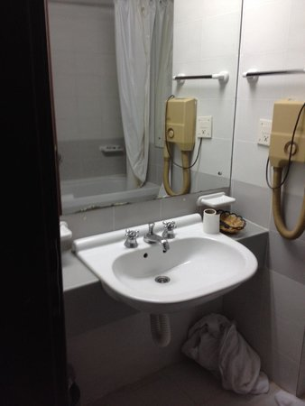 Hotel Slavija Garni : la salle de bain