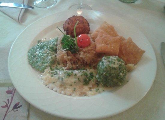 Goldener Adler Restaurant: Adler variation