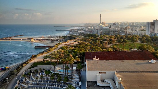 Hilton Tel Aviv: View from balcony