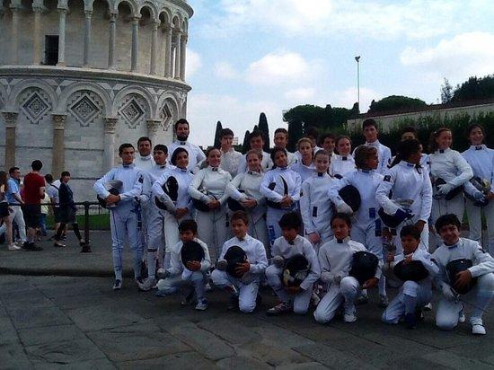 B&B La Rondine: Scherma Pisa Club Scherma Antonio Di Ciolo la Scjerma a Pisa