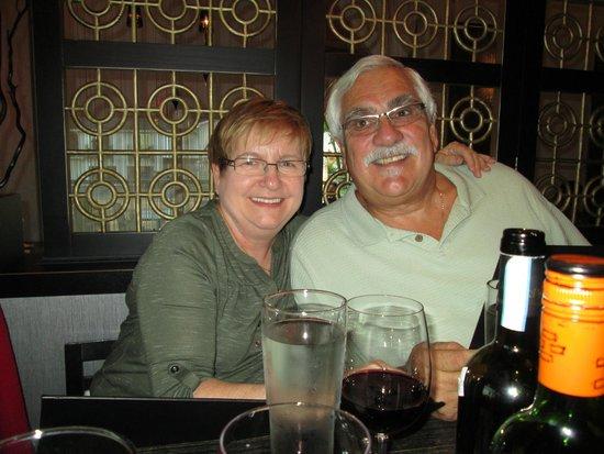 Suzanne & Ron at Haru Izakaya on Sept. 26, 2014