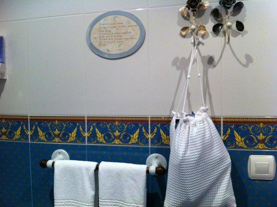 Hotel Casona Naviega: Detalle cuarto de baño