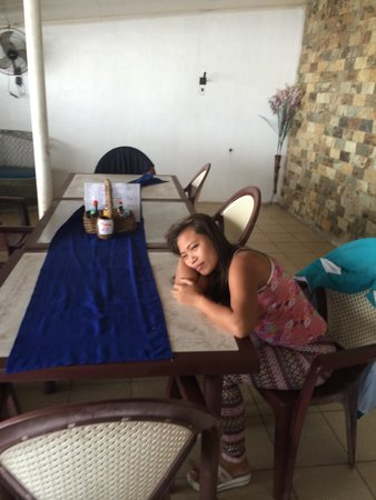 Blue Rock Beach Resort : private verandah room 23