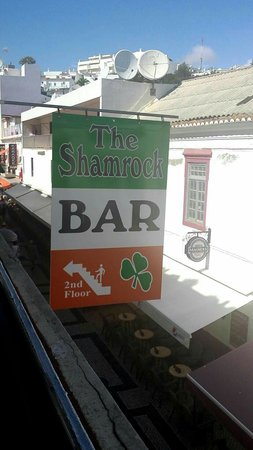 The Shamrock Irish Bar : Look out for this on bar street