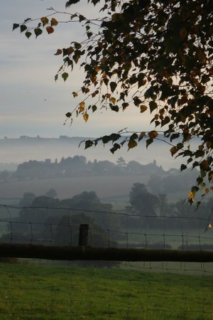 The Rock B&B: A misty start to the day