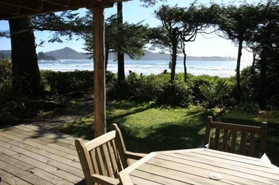 ‪‪Chesterman Beach Bed and Breakfast‬: Ocean Breeze Deck‬