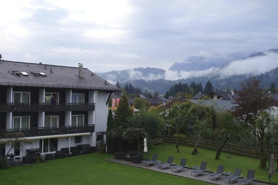 Best Western Hotel Obermühle: Widok z balkonu