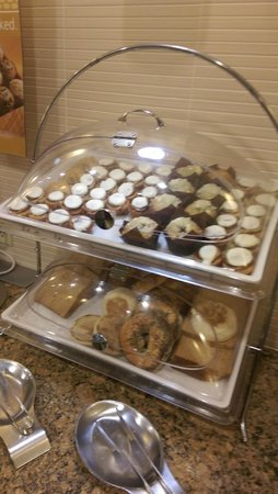 Hampton Inn Linden : pasteries