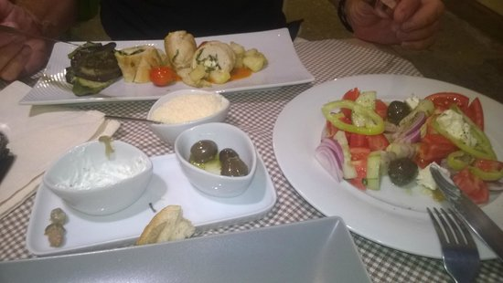 Anthos Restaurant: oops started tb eat before I took photo