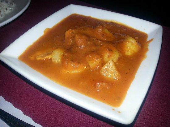 Milan Indian Cuisine: Seafood Vindaloo--Delicious!