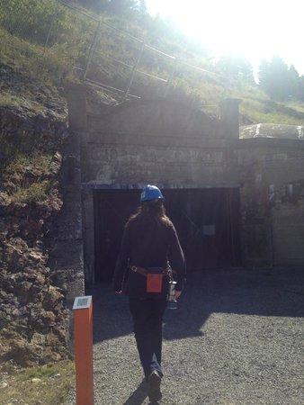 Bellevue Underground Mine: Entrance to the mine