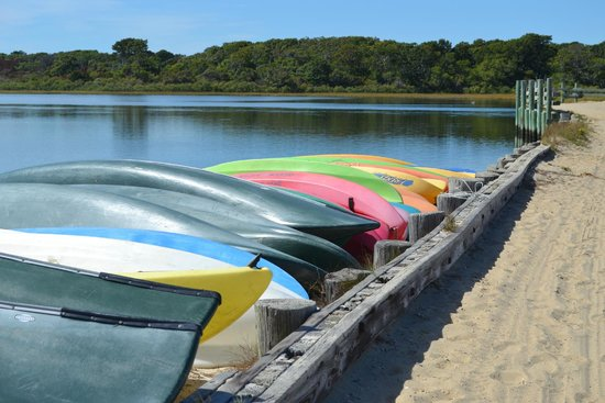 Pequot Hotel: Chappaquiddick Beach - Trustees of Reservations Kayaks