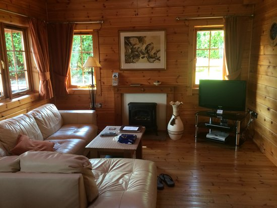Luxury Lodges Wales: Our open plan living room