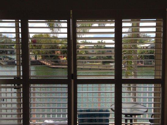 Portside Noosa Waters Resort : View from Master bedroom