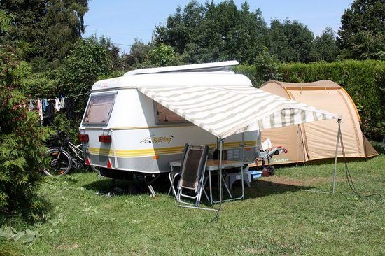 Sciez, França: Emplacement Caravane