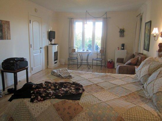 Gite au Fleuve Bercant: photo de la chambre
