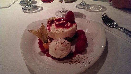 Porth Avallen Hotel : Cheesecake