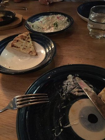Gazi Restaurant : We didn't leave much on the plates!