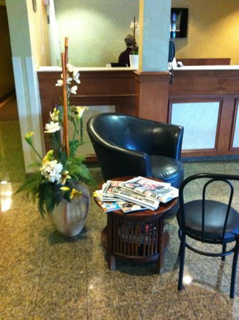 Chateau Repotel Duplessis: Le lobby