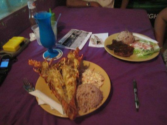 Belizean Flavas : Belizean Flava Grilled Lobster, its delicious!