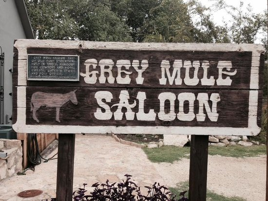 Grey Mule Saloon Tasting Room