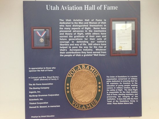 Hill Aerospace Museum: Hall of Fame