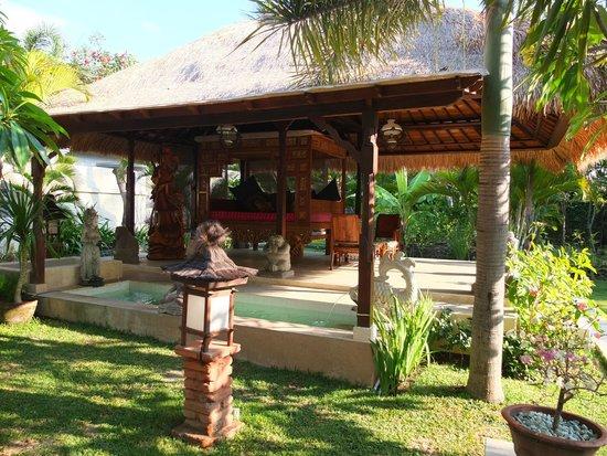 Puri Mas Boutique Resort & Spa: Yoga area