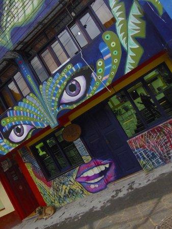 Supertramp Eco Hostel: beautiful building..