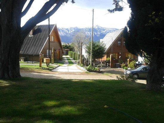 Cabanas Bosque Andino: vista desde la casa particular de los dueños