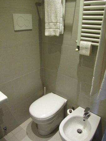 Hotel Genius Downtown: Banheiro poderia ser melhor!