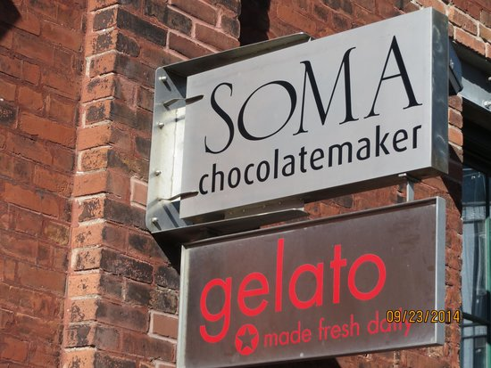 Soma Chocolate: Sign