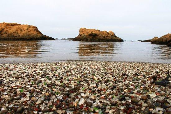 Plaża Glass Beach