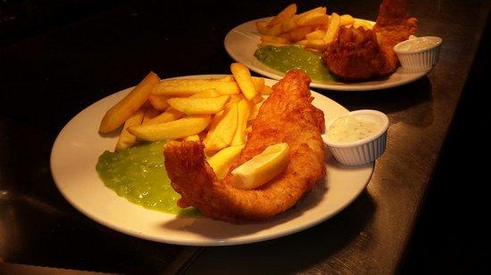 The Eliot Arms Restaurant: Fish night