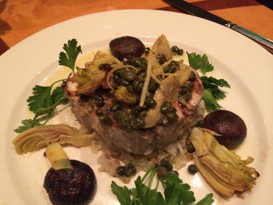 Seastar Restaurant & Raw Bar: Hardwood grilled swordfish