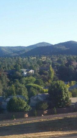 Residence Inn Prescott: View from room.