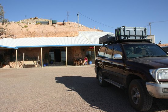 The Underground Motel : enjoyed a night outside my rooftop tent