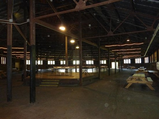 Inside The Figure 8 Barn At Bellevue State Park