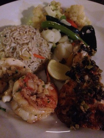 Seafood Cove : Seafood and Shrimp with side dishes